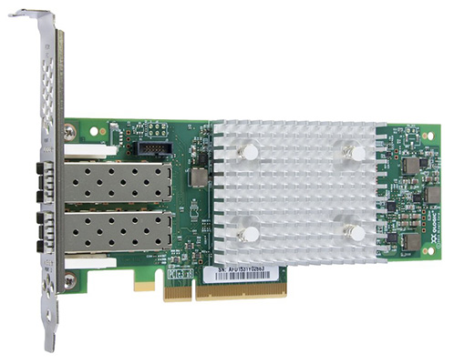 HPE StoreFabric SN1100Q 16Gb 2-Port Fibre Channel Host Bus Adapter