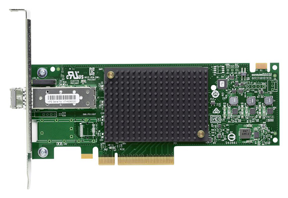 HPE StoreFabric SN1200E 16Gb 1-Port Fibre Channel Host Bus Adapter