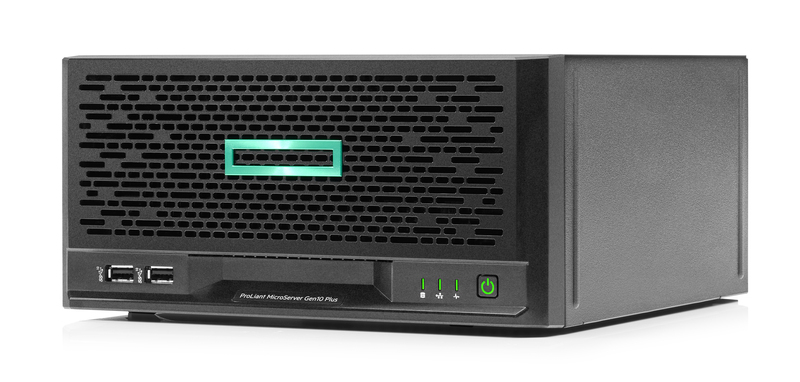 HPE MircoServer Gen10 Plus Left